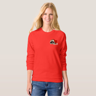Lovely Women's Raglan Sweatshirt
