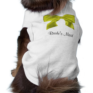 Lovely yellow Bow doggie t-shirt