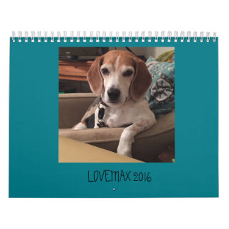 LOVEMAX 2016 WALL CALENDARS