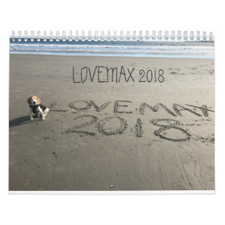 LOVEMAX 2018 WALL CALENDARS