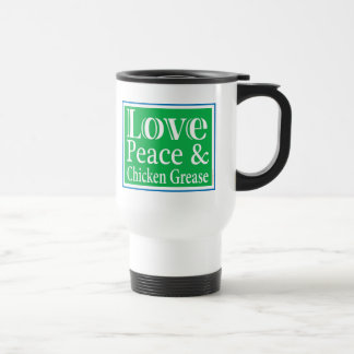 LovePeaceChick for apparel Travel Mug