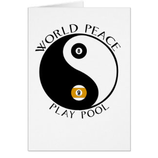LovePeaceWhite Greeting Card