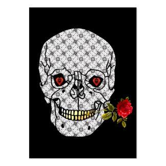 Lover Boy Skull Large Business Cards (Pack Of 100)
