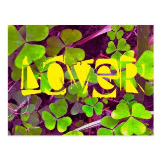 Lover Clover Postcard