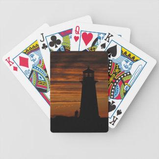 Lover s Silhouette Peggy s Cove Nova Scotia Poker Deck