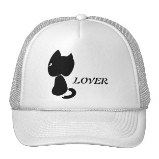 """...LOVER"" Stylized Cat Cap Mesh Hat"