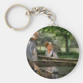 Lover - The Courtship Basic Round Button Key Ring