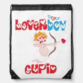 Loverboy Cupid Drawstring Backpack