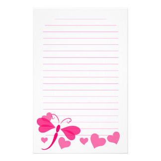 Loverly Dragon Fly Stationery