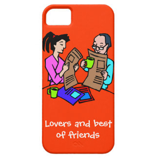 Lovers and best of friends iPhone 5 case