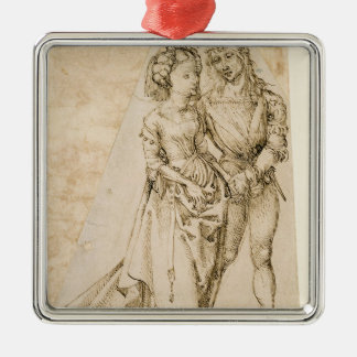 Lovers Christmas Ornament