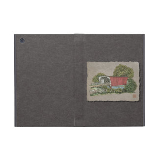 Lovers Covered Bridge Covers For iPad Mini