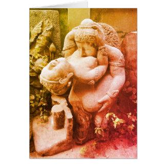 Lovers Garden Ornament, Chiang Mai, Thailand Card