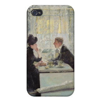 Lovers in a Cafe iPhone 4/4S Covers