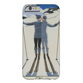 <Lovers in the Snow> by Georges Barbier Barely There iPhone 6 Case