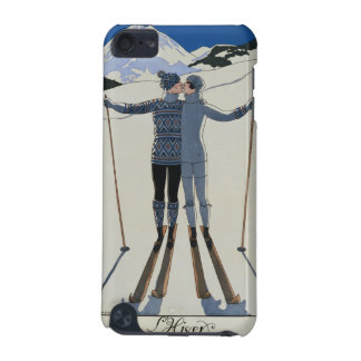 <Lovers in the Snow> by Georges Barbier iPod Touch (5th Generation) Cases