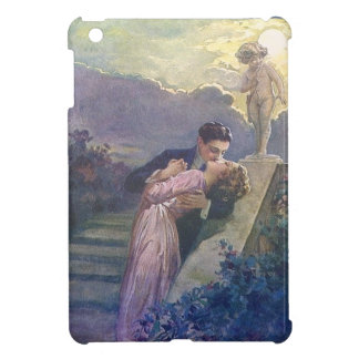 Lovers Kiss Vintage Couple with Cupid Case For The iPad Mini