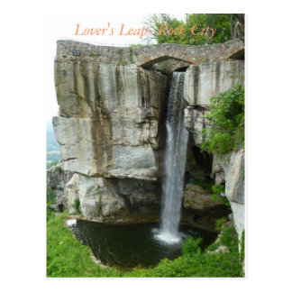 Lover's Leap at Rock City Postcard