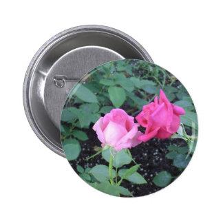 Lovers Roses 6 Cm Round Badge