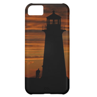 Lover's Silhouette, Peggy's Cove, Nova Scotia iPhone 5C Covers