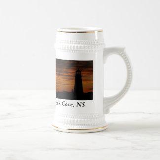 Lover's Silhouette, Peggy's Cove, Nova Scotia Mugs