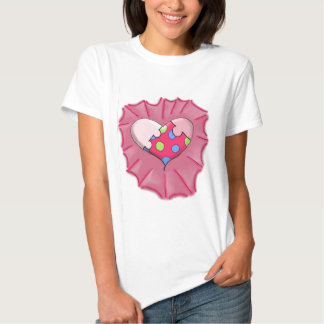 Loves a Puzzle Heart Digital Art Tees