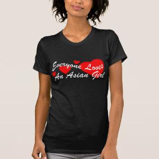 Loves Asian Girl (Dark) T-shirt