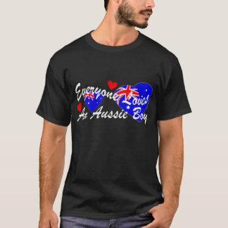 Loves Aussie Boy (Dark) T-Shirt