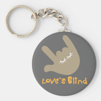 Love's Blind Keychain