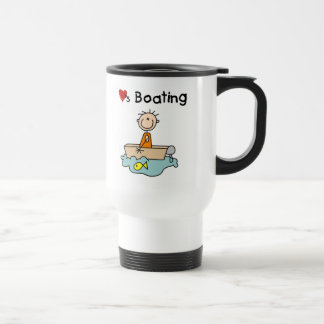 Loves Boating Mug