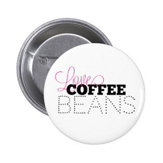 Loves Coffee Beans Pin