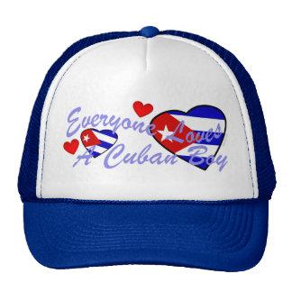 Loves Cuban Boy Hat