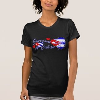 Loves Cuban Girl (Dark) Tees