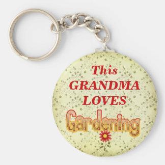 Loves Gardening Key Chains