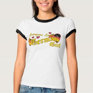 Loves German Girl Drk T-Shirt