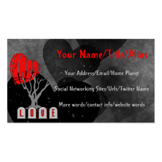 Love's Graveyard Double-Sided Standard Business Cards (Pack Of 100)