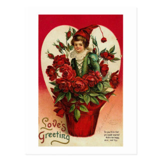 Love's Greeting Postcard