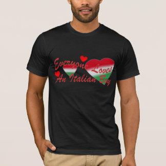 Loves Italian Boy Red T-Shirt