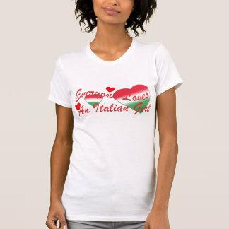 Loves Italian Girl Red T-Shirt