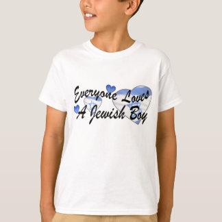 Loves Jewish Boy Shirts