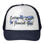 Loves Jewish Girl Hat