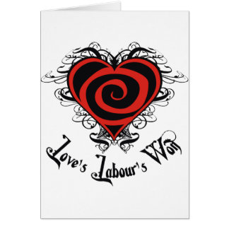Love's Labour's Won Card