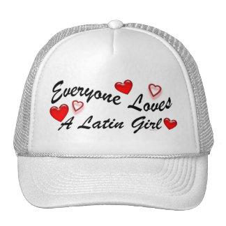 Loves Latin Girl Hat