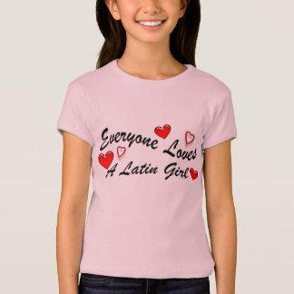 Loves Latin Girl Shirt