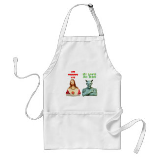 Loves Me -- Loves Me Not (Original Design) Standard Apron