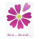 loves me not .. loves me full color flyer