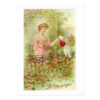 Love's Messenger Postcard