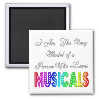 Loves Musicals Magnet