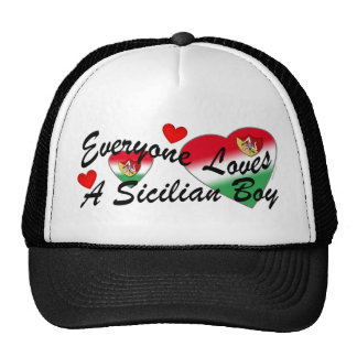 Loves Sicilian Boy Hat