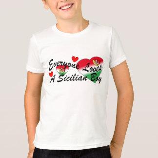 Loves Sicilian Boy Shirts